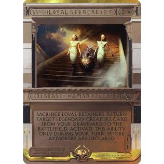 Magic the Gathering Amonkhet Invocation Single Loyal Retainers FOIL - NEAR MINT (NM)