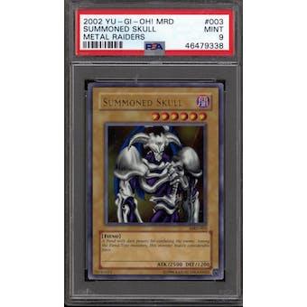 Yu-Gi-Oh Metal Raiders Summoned Skull MRD-003 PSA 9