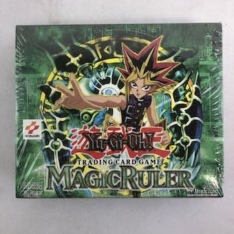 Upper Deck Yu-Gi-Oh Magic Ruler 1st Edition Hobby Booster Box (24-Pack) MRL SRL