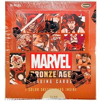Marvel Bronze Age (1970-1985) Trading Cards Box (Rittenhouse 2012)