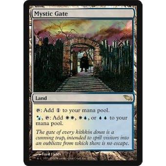 Magic the Gathering Shadowmoor Single Mystic Gate Foil - NEAR MINT / SLIGHT PLAY (NM/SP)