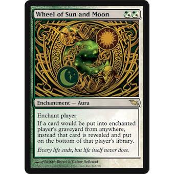 Magic the Gathering Shadowmoor Single Wheel of Sun and Moon - NEAR MINT (NM)