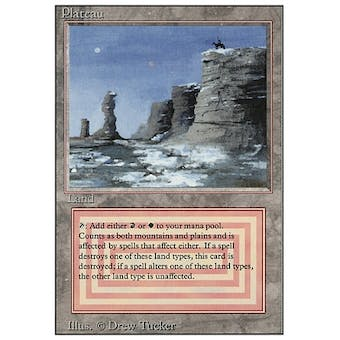 Magic the Gathering 3rd Ed (Revised) Single Plateau - NEAR MINT (NM) Sick Deal Pricing
