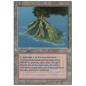 Magic the Gathering 3rd Ed (Revised) Single Volcanic Island - SLIGHT PLAY (SP)