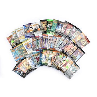 Magic the Gathering Booster Pack Lot - 51 Packs! See Description for Details