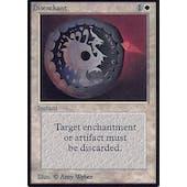 Magic the Gathering Alpha Single Disenchant - MODERATE PLAY (MP)