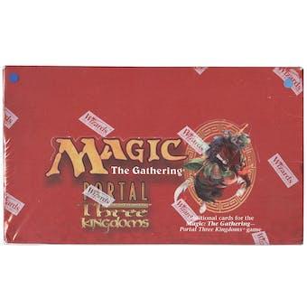 Magic the Gathering Portal 3 Three Kingdoms English Booster Box