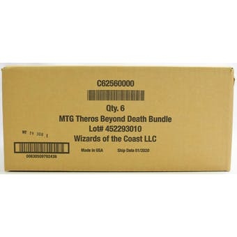 Magic the Gathering Theros Beyond Death Bundle 6-Box Case