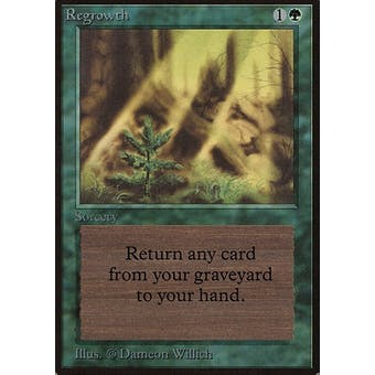 Magic the Gathering Beta Single Regrowth - NEAR MINT (NM)