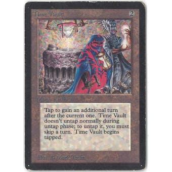 Magic the Gathering Beta Single Time Vault - SLIGHT / MODERATE PLAY (SP/MP)