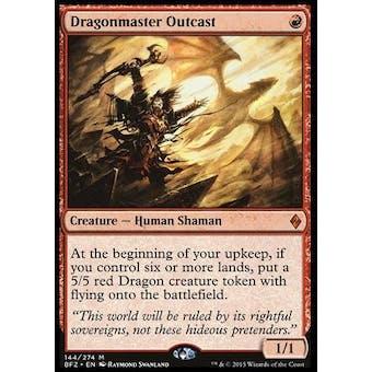 Magic the Gathering Battle For Zendikar Single Dragonmaster Outcast - NEAR MINT (NM)