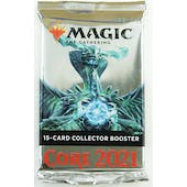 Magic the Gathering Core Set 2021 Collector Booster Pack