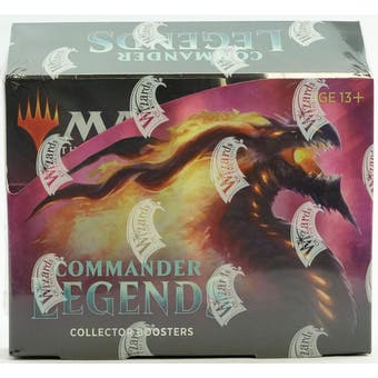 Magic the Gathering Commander Legends Collector Booster Box