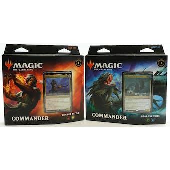 Magic the Gathering Commander Legends Commander Deck - Set of 2