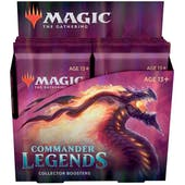 Magic the Gathering Commander Legends Collector Booster 1-Box - DACW Live 8 Spot Break #3