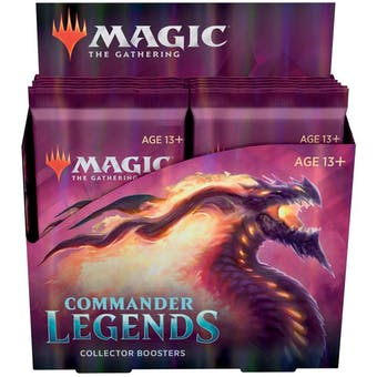 Magic the Gathering Commander Legends Collector Booster 1-Box - DACW Live 8 Spot Break #1