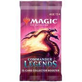 Magic the Gathering Commander Legends Collector Booster Pack