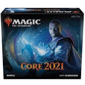 Magic the Gathering Core Set 2021 Bundle Box