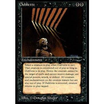 Magic the Gathering Arabian Nights Single Oubliette (Dark Version) - NEAR MINT (NM) Sick Deal Pricing