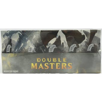 Magic the Gathering Double Masters Booster Box with Box Topper