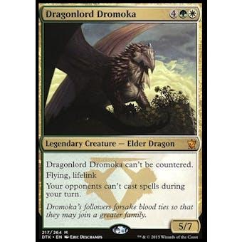 Magic the Gathering Dragons of Tarkir Single Dragonlord Dromoka NEAR MINT (NM)