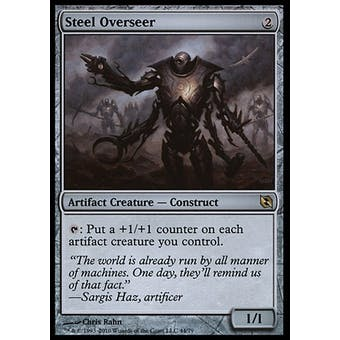 Magic the Gathering Duel Deck Single Steel Overseer - NEAR MINT (NM)