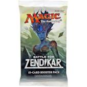 Magic the Gathering Battle for Zendikar Booster Pack