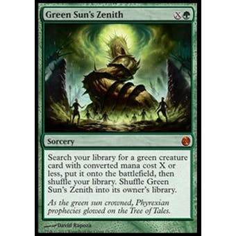 Magic the Gathering From The Vault Single Green Sun's Zenith - NEAR MINT (NM)
