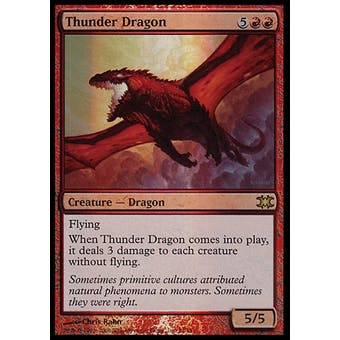 Magic the Gathering From The Vault Single Thunder Dragon FOIL - NEAR MINT (NM)