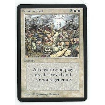 Magic the Gathering Alpha Single Wrath of God - NEAR MINT (NM)