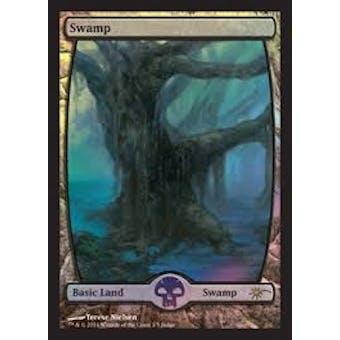 Magic the Gathering Promotional Single Basic Swamp FOIL (JUDGE) - NEAR MINT (NM)