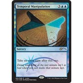 Magic the Gathering Judge Promo Single Temporal Manipulation FOIL - SLIGHT PLAY (SP)