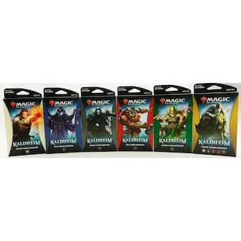 Magic the Gathering Kaldheim Theme Booster Pack - Set of 6