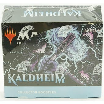 Magic the Gathering Kaldheim Collector Booster Box