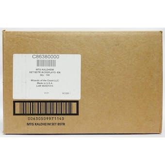 Magic the Gathering Kaldheim Set Booster 6-Box Case