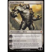 Magic the Gathering New Phyrexia Single Karn Liberated - MODERATE PLAY (MP)