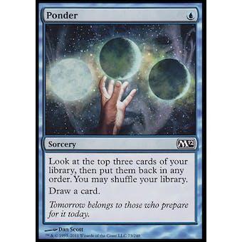 Magic the Gathering Magic 2012 Single Ponder FOIL - NEAR MINT (NM)