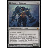 Magic the Gathering Mirrodin Besieged Single Blightsteel Colossus FOIL - SLIGHT PLAY (SP)