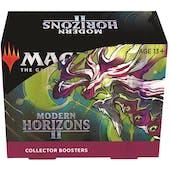 Magic The Gathering Modern Horizons 2 Collector Booster Box - DACW Live 8 Spot Break #15