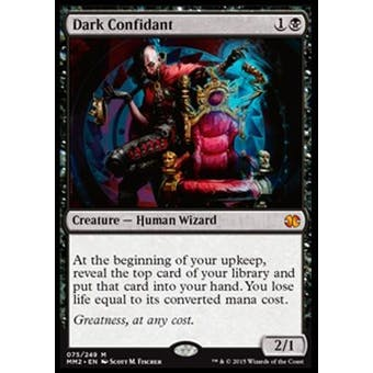 Magic the Gathering Modern Masters 2015 Edition Single Dark Confidant NEAR MINT (NM)