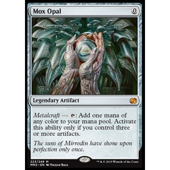 Magic the Gathering Modern Masters 2015 Edition Single Mox Opal NEAR MINT (NM)