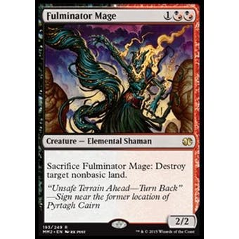Magic the Gathering Modern Masters 2015 Edition Single Fulminator Mage NEAR MINT (NM)