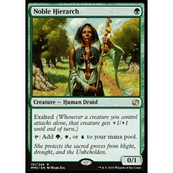 Magic the Gathering Modern Masters 2015 Edition Single Noble Hierarch NEAR MINT (NM)