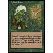 Magic the Gathering Portal Single Sylvan Tutor - HEAVY PLAY (HP)