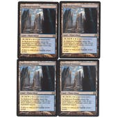 Magic the Gathering Return to Ravnica PLAYSET Hallowed Fountain X4 - NEAR MINT (NM)