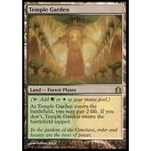 Magic the Gathering Return to Ravnica Single Temple Garden - NEAR MINT (NM)