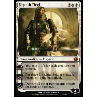 Magic the Gathering Scars of Mirrodin Single Elspeth Tirel - NEAR MINT (NM)
