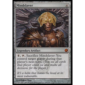 Magic the Gathering Scars of Mirrodin Single Mindslaver FOIL - SLIGHT PLAY (SP)