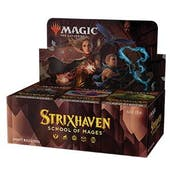 Magic The Gathering Strixhaven: School of Mages Draft Booster 6-Box Case