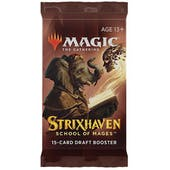 Magic The Gathering Strixhaven: School of Mages Draft Booster Pack